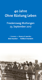 Programm Friedensweg 2017